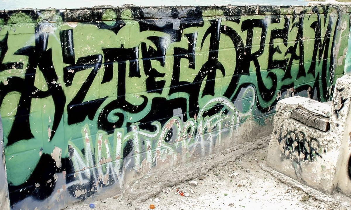 Aztec Dream mural