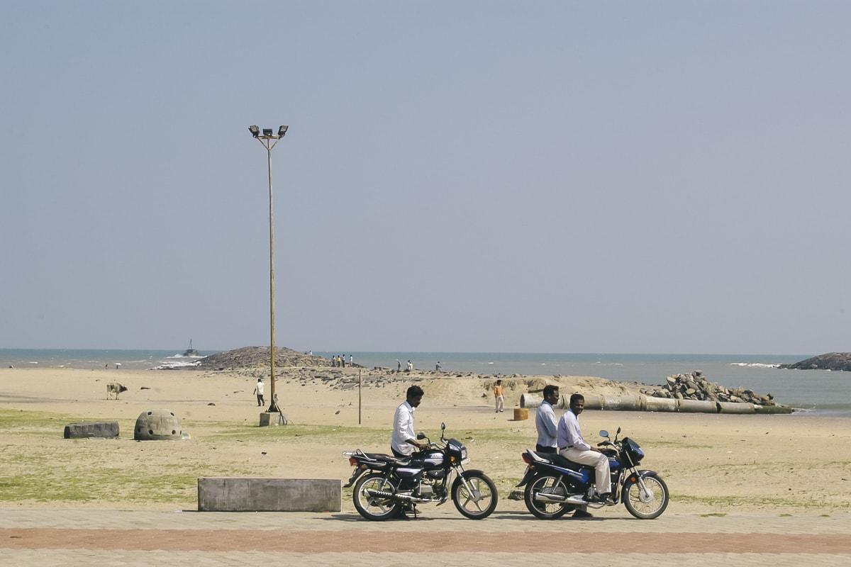 Karaikal Beach, Puducherry, India