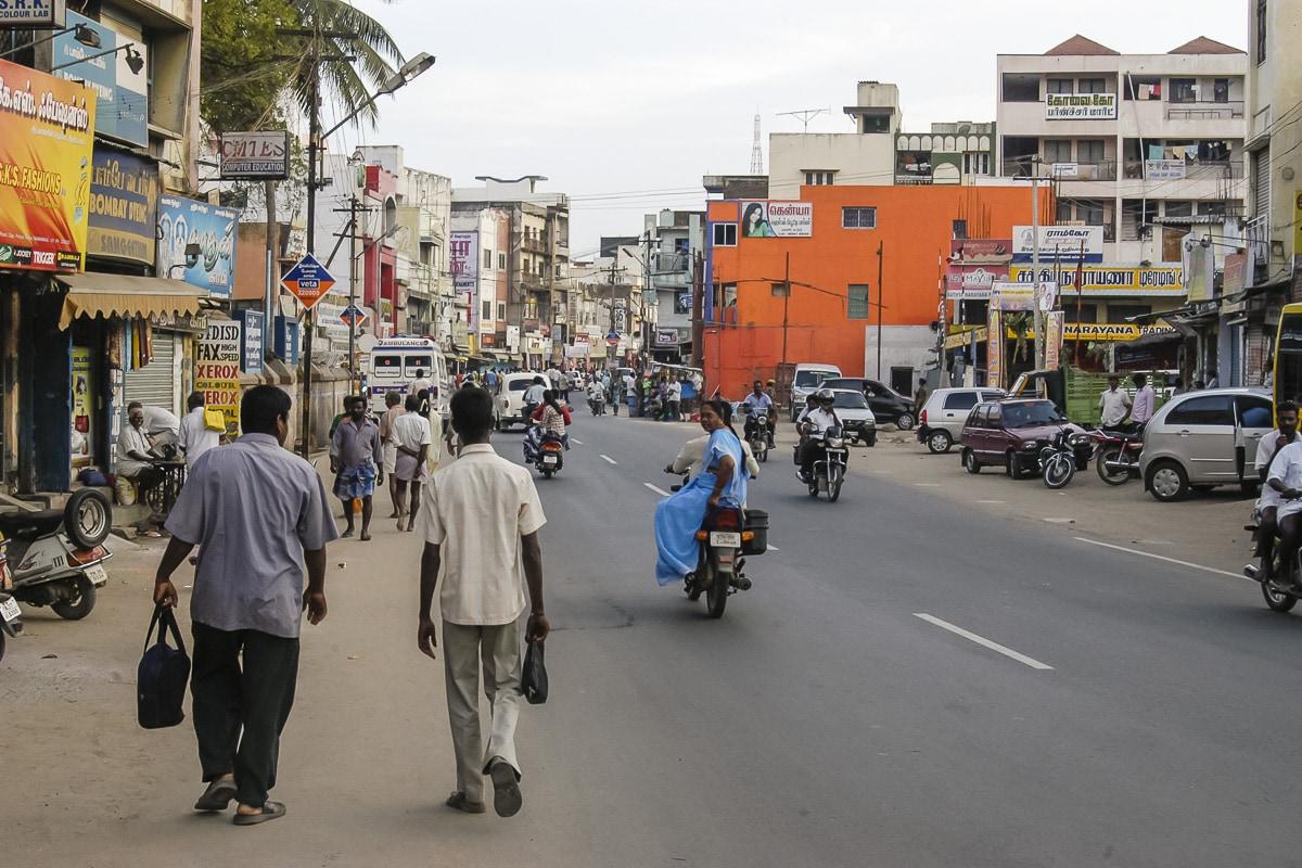 Namakkal Street Scene