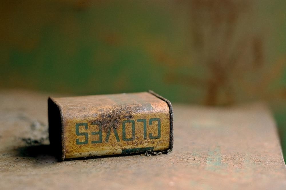 Rusty Cloves Tin Can