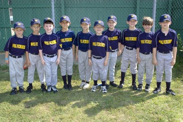 Wolverines Team Portrait