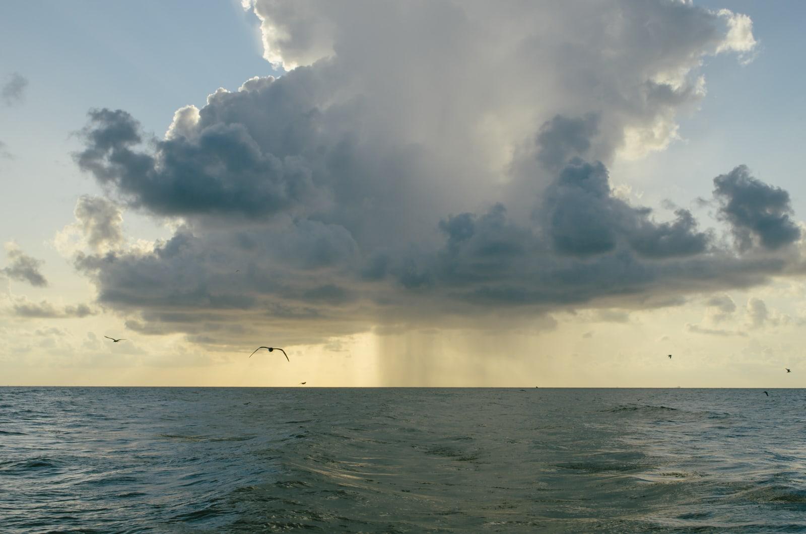 A rain cloud