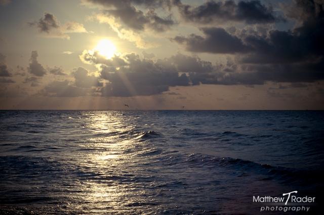 Galveston Island Seascape at Sunrise (6)