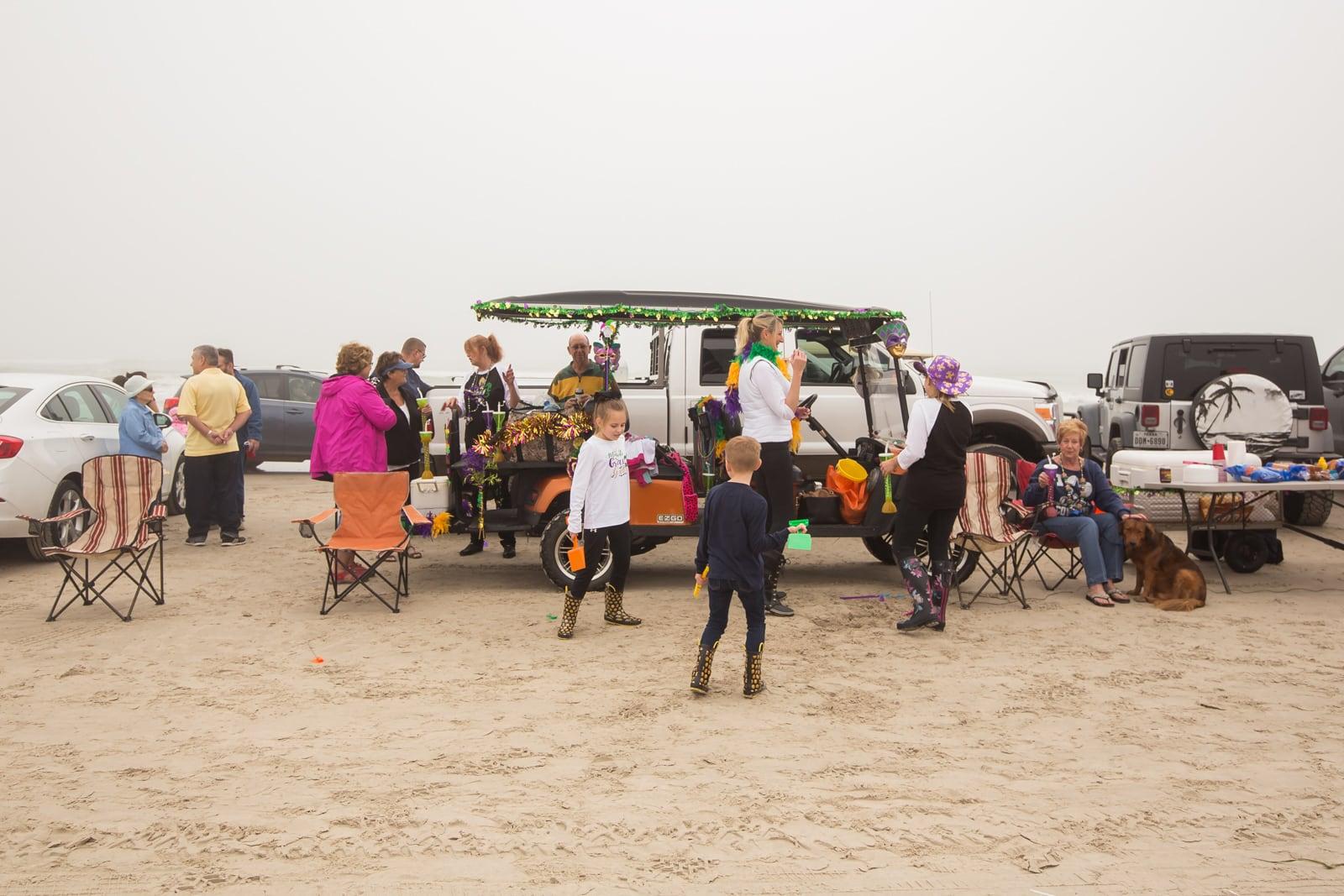 Whitecap Beach parade