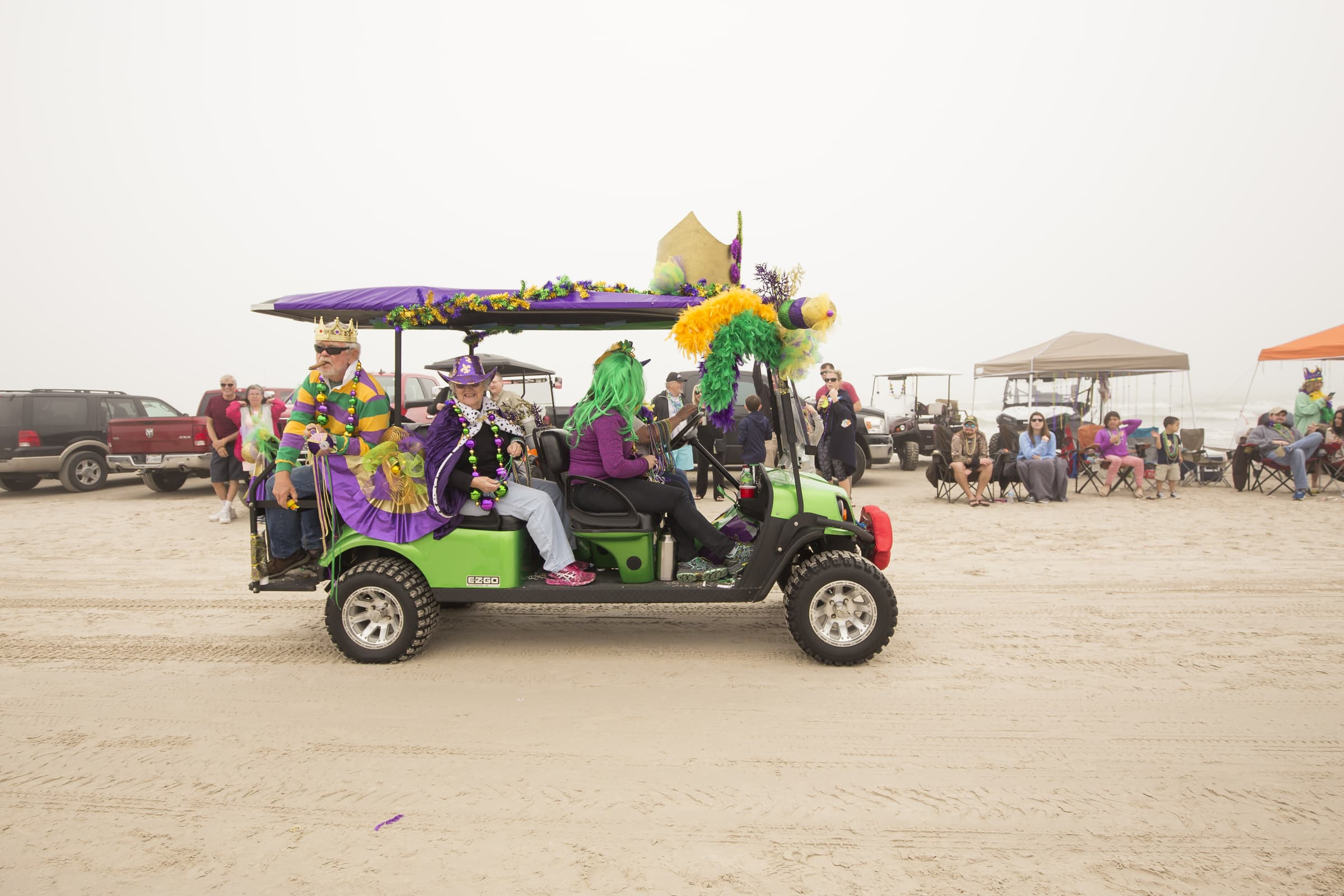 Padre Island Barefoot Mardi Gras 2018