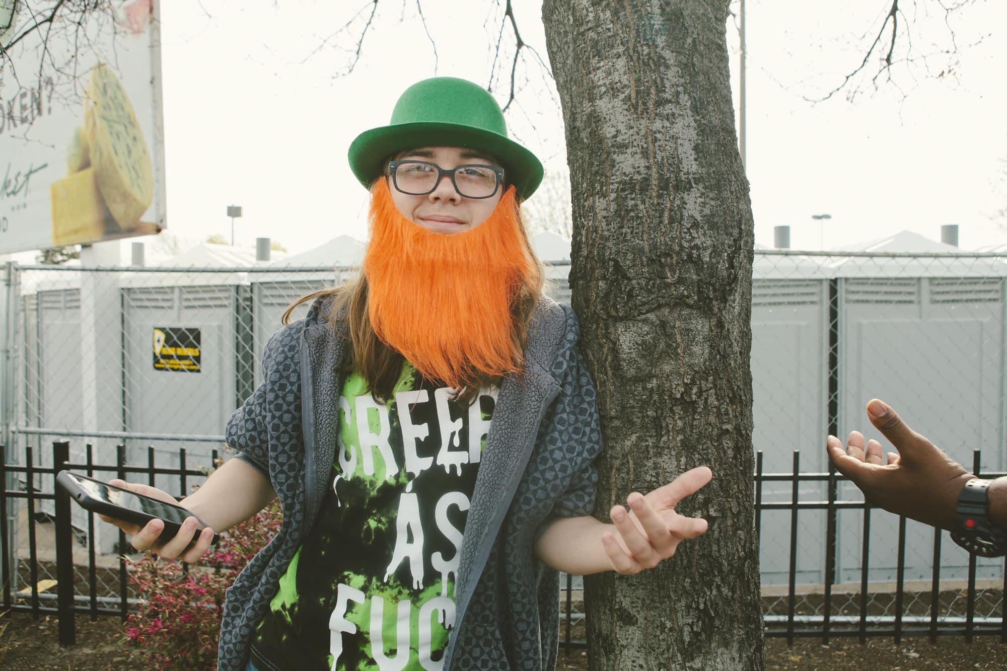Such an epic orange beard