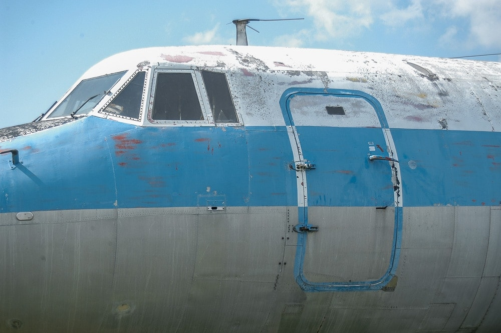 Abandoned Airplane - Pro Air Martin 404 N255S