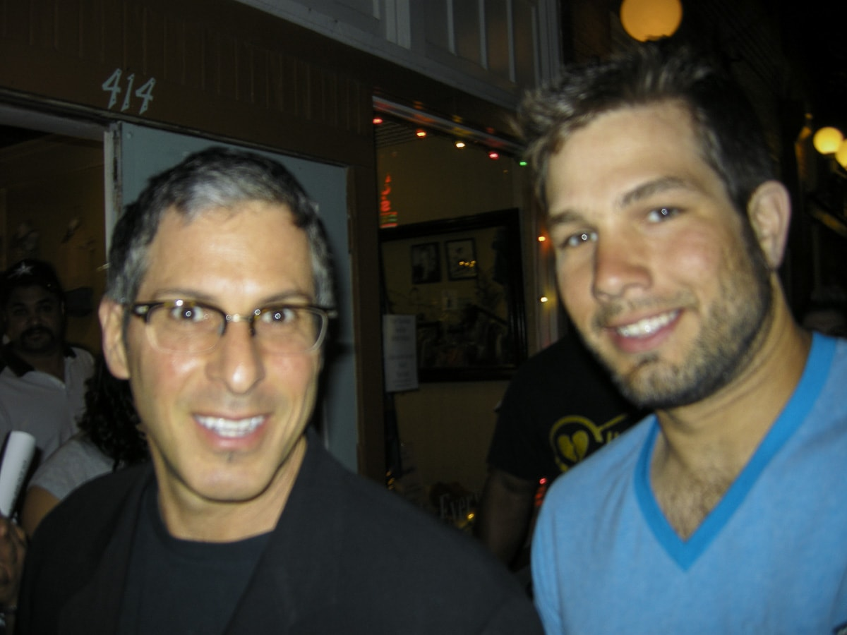 Selfie of Matthew T Rader and Joey Greco