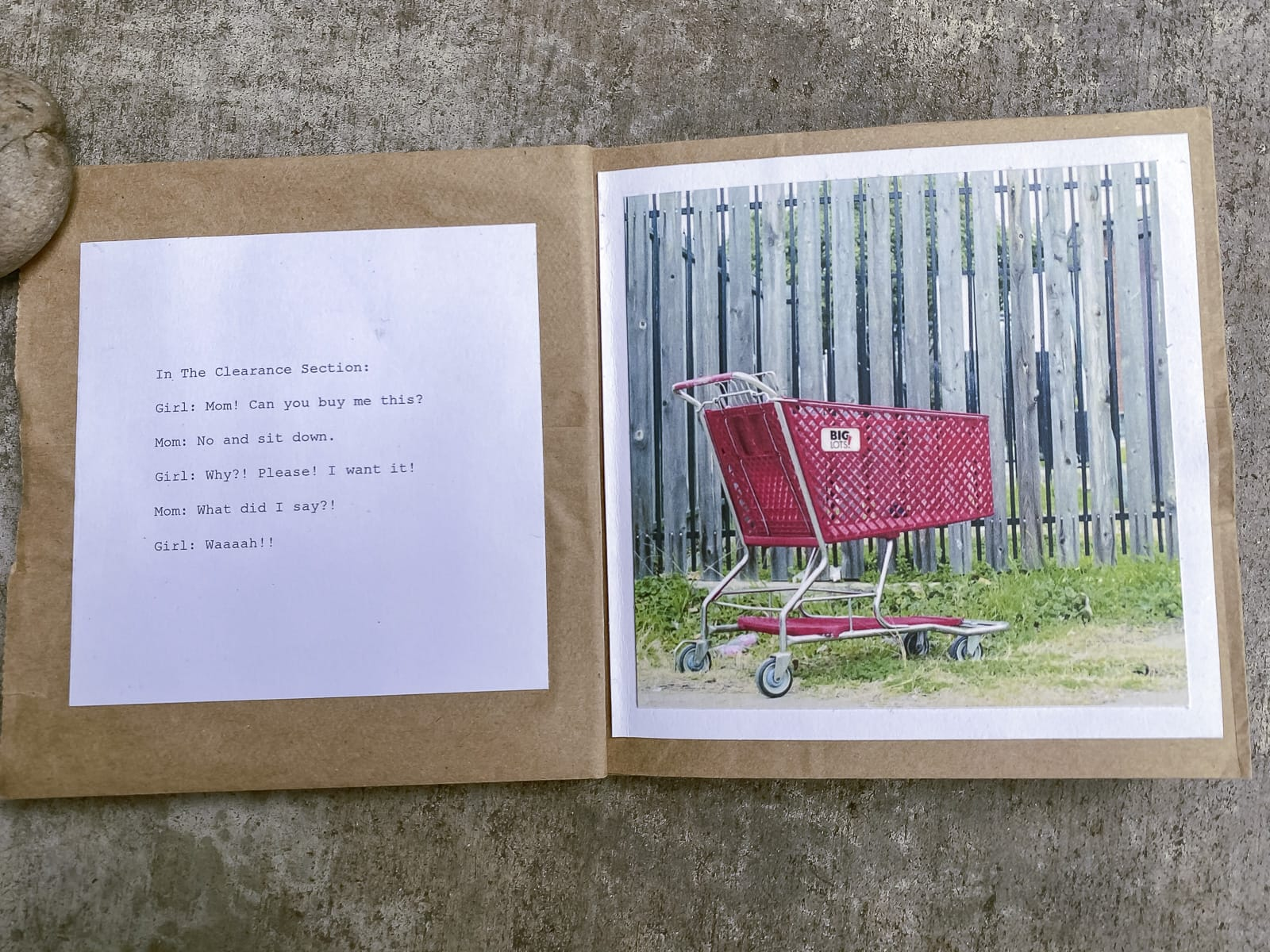Abandoned Shopping Carts Book Art by Matthew T Rader