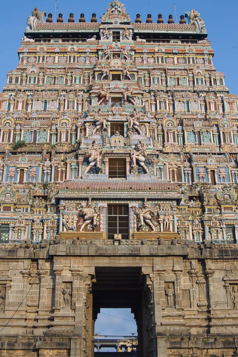 Nataraja Temple gopuram, Chidambaram, India