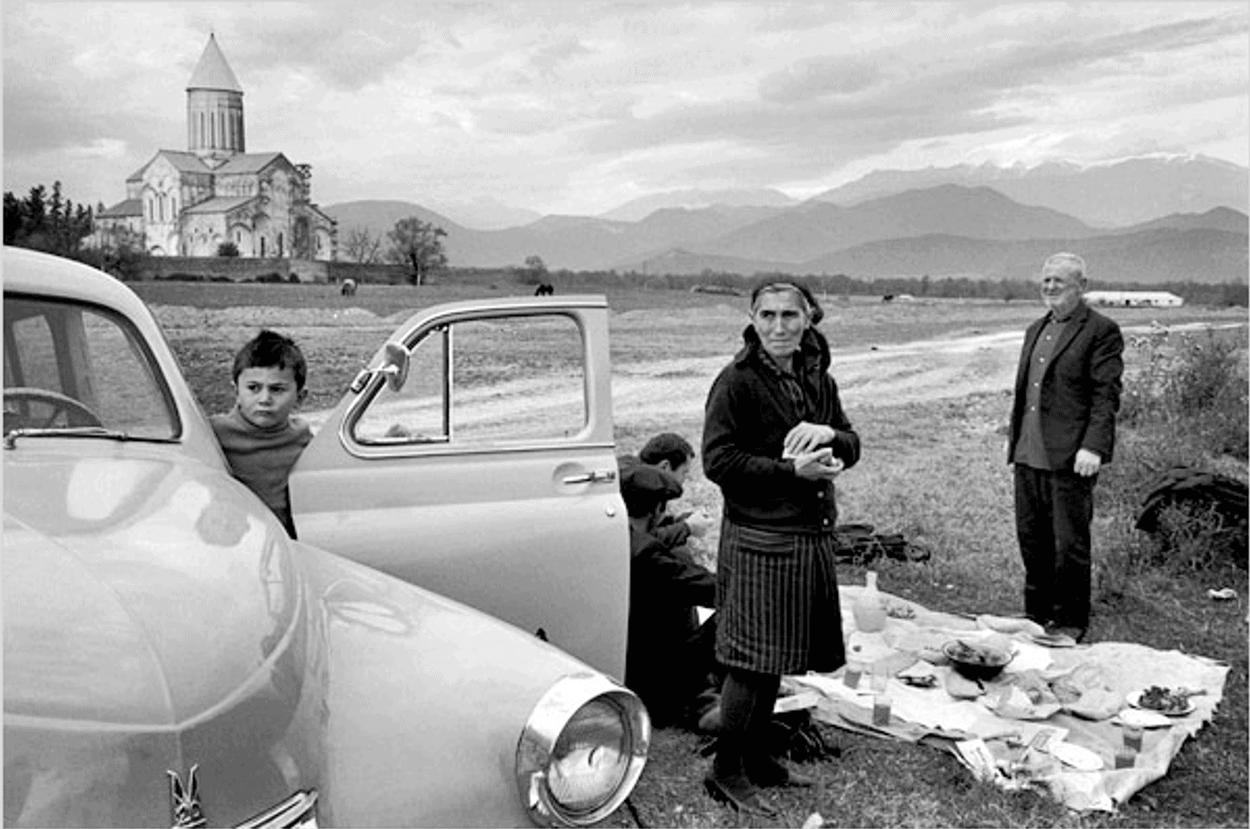URSS, Géorgie, Province de Khatétie, Monastère de Alaverdi, 1972