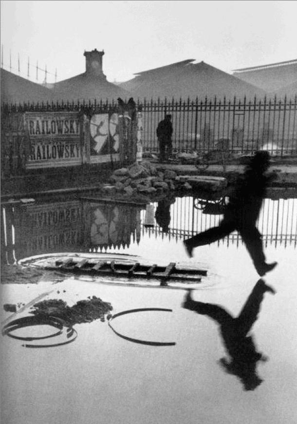 Behind the Gare St. Lazare, Paris, 1932