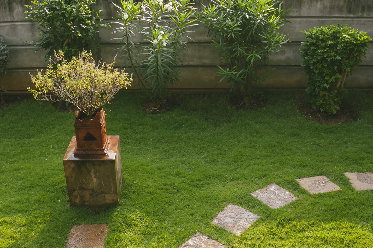 Puducherry, India Zen garden