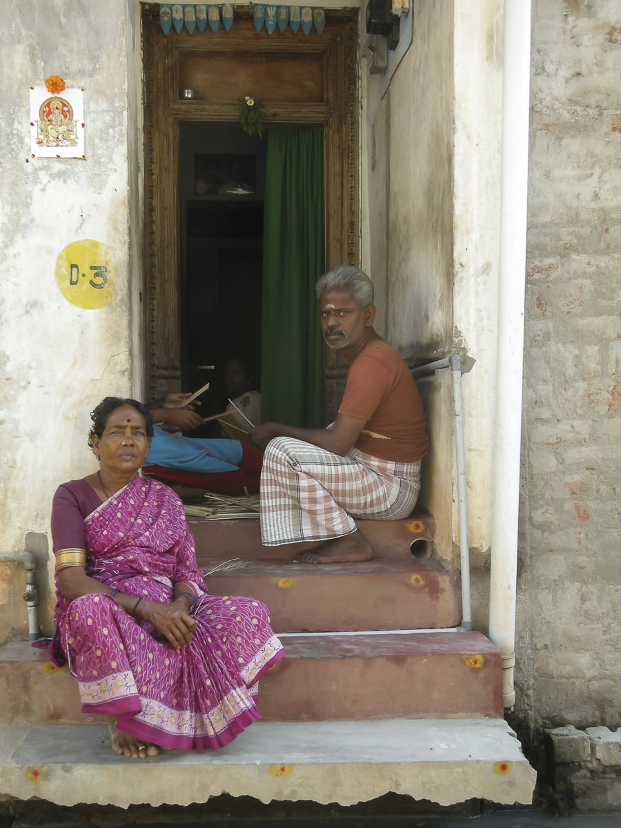 Puducherry, India Is A Seaside French Settlement With A Unique Culture