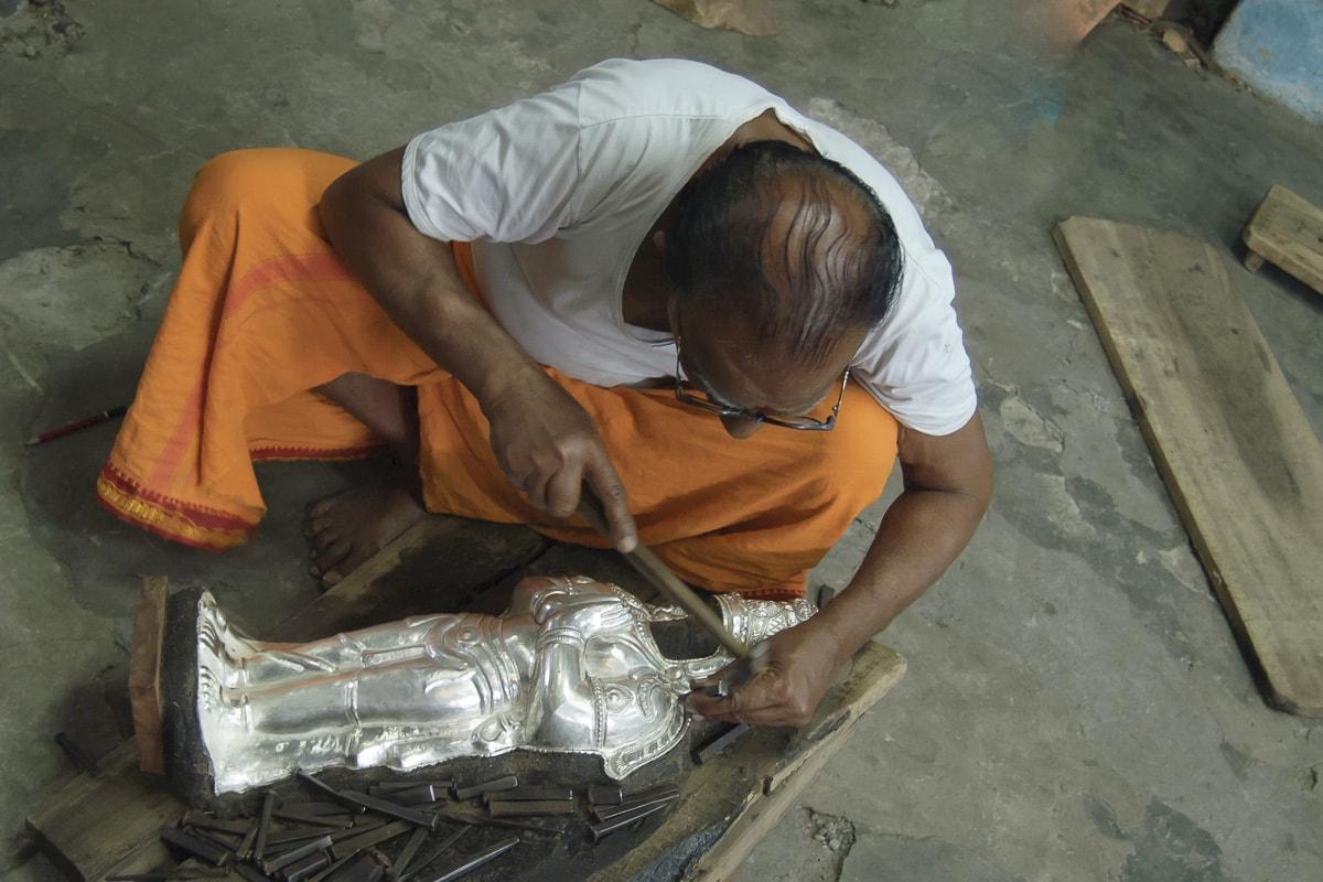 Metal Smiths in Thanjavur