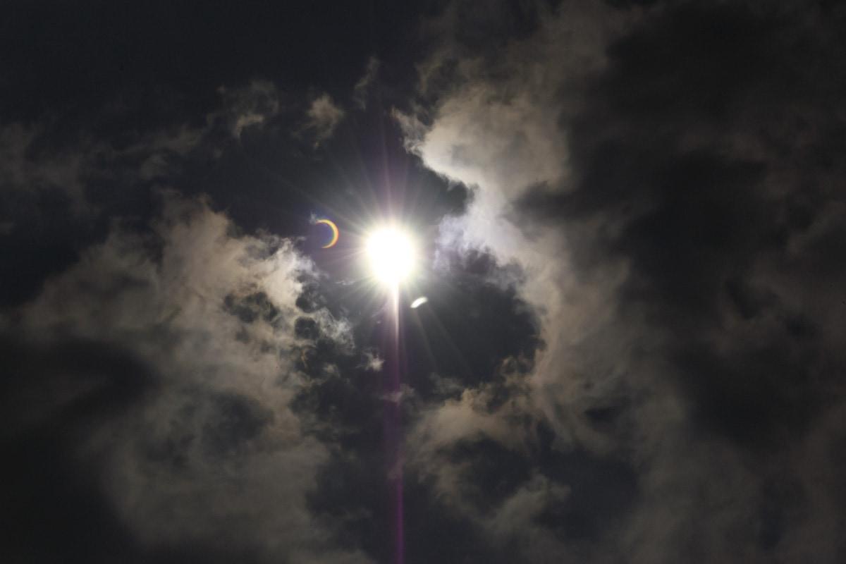 Annular solar eclipse in India by Matthew T Rader