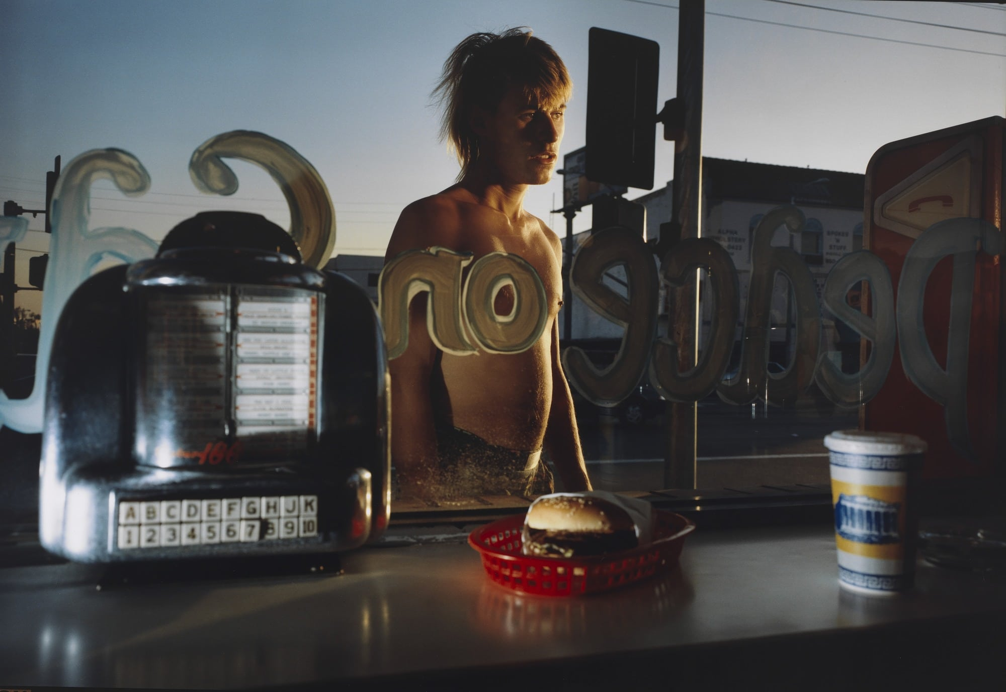 Philip-Lorca diCorcia Eddie Anderson; 21 years old; Houston, Texas; $20. Tableau Photography