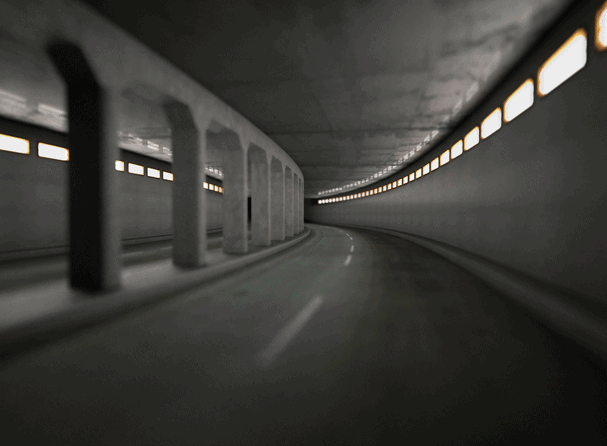 Thomas Demand - Tunnel, 1999