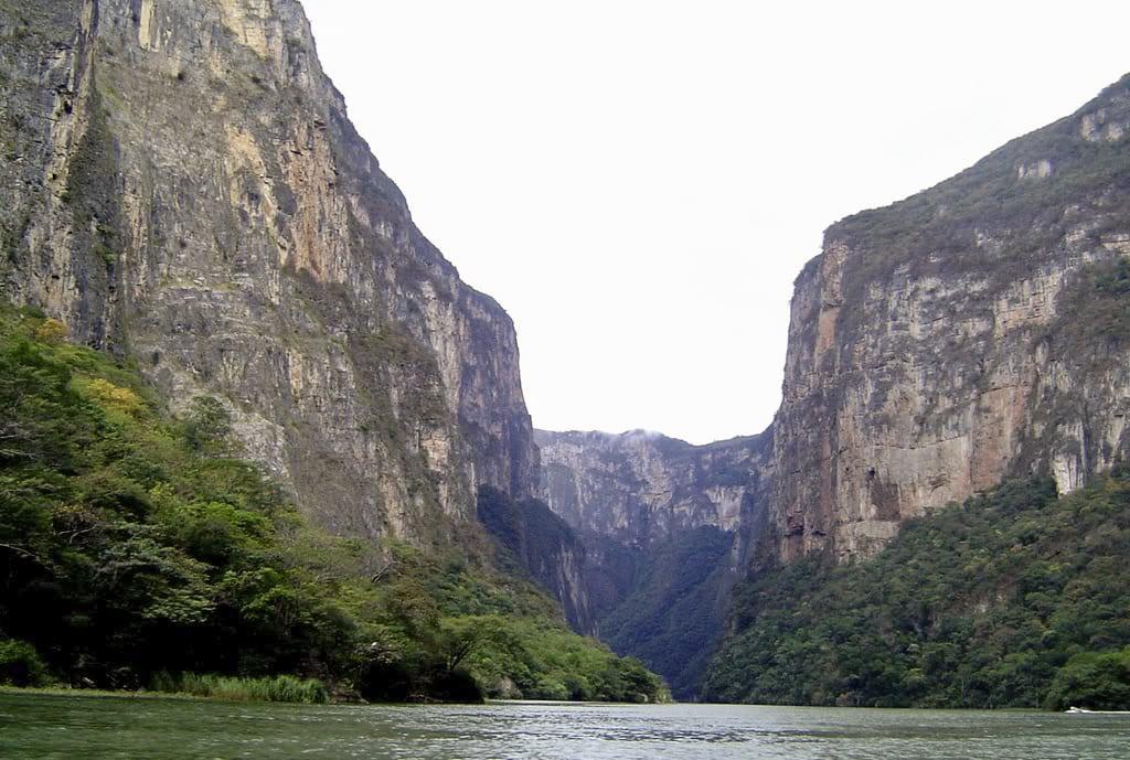 Sumidero Canyon in Chiapas
