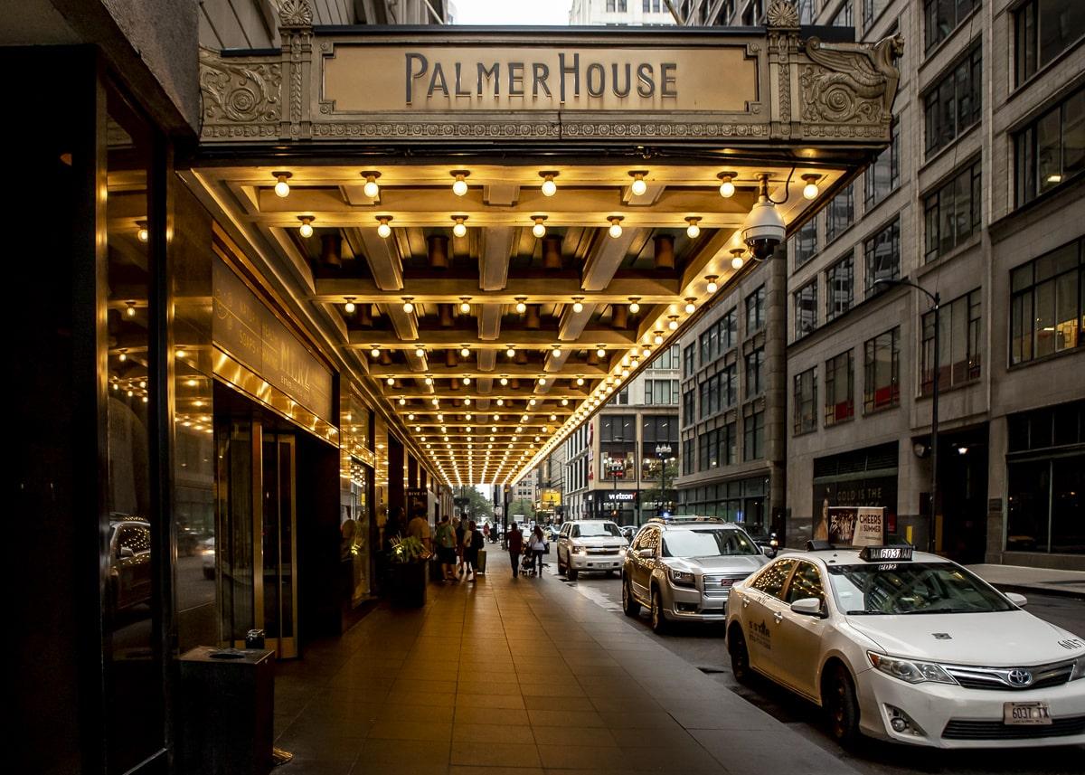 Palmer Hotel Entrance