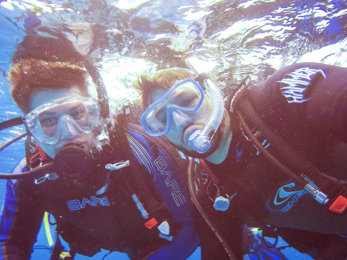 Scuba Diving in Cozumel with Stingrays and Sea Turtles Photos and Video