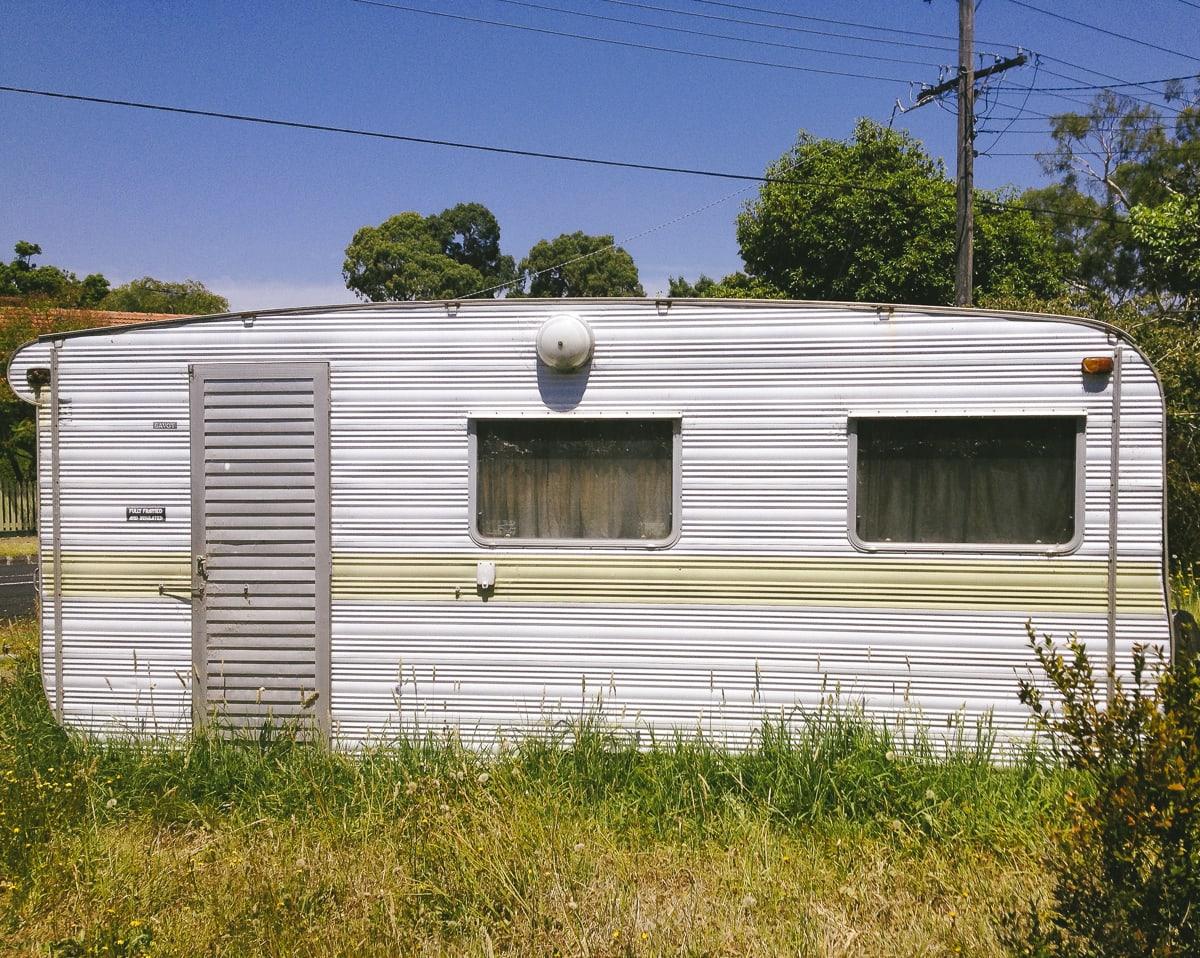 An old camper in Healesville, Australia