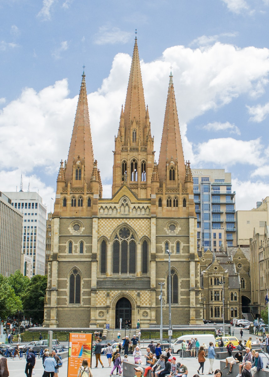 St Paul's Cathedral - City of Melbourne