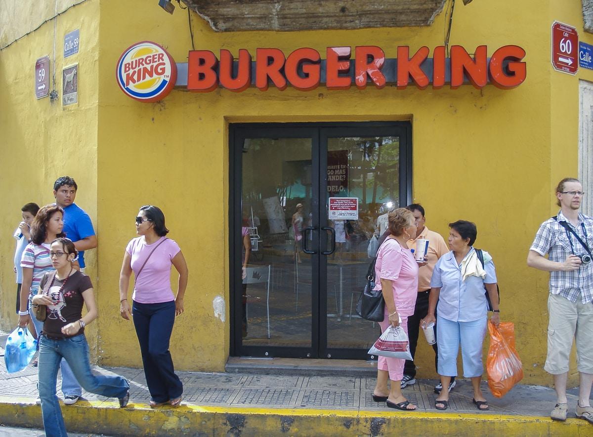Burger King in Mérida, Yucatán