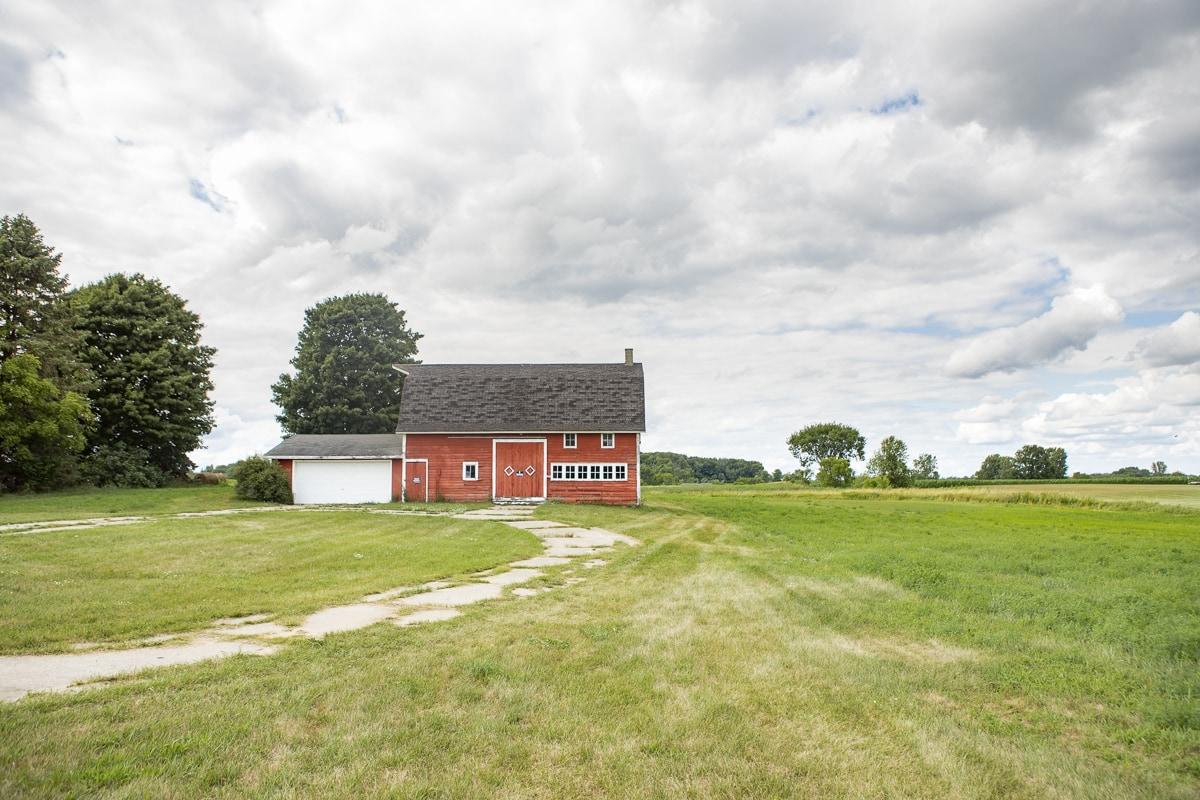 An old dutch farm house in Michigan