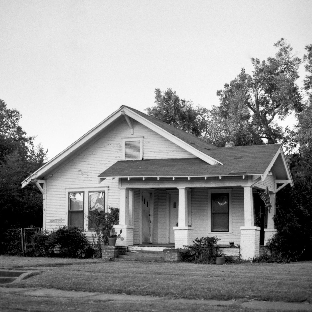 An old house in Old East Dallas neighborhood