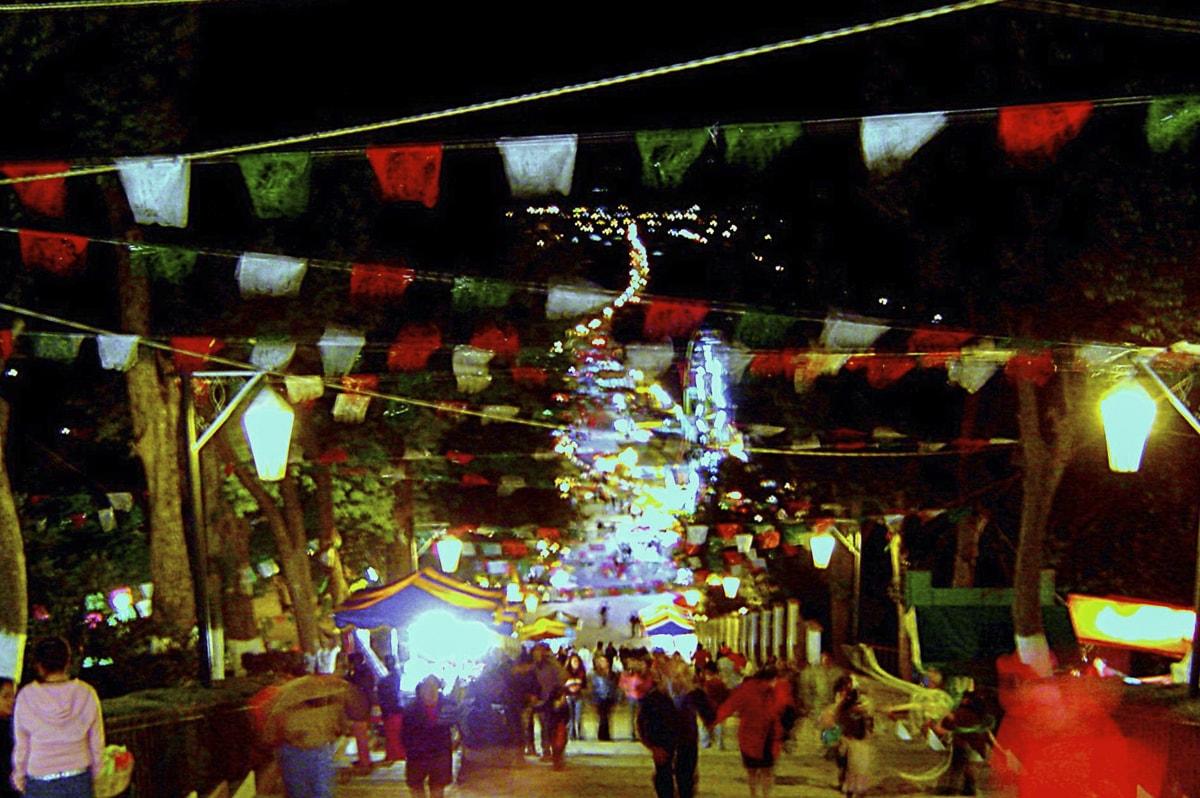 San Cristóbal de las Casas, Chiapas at Night