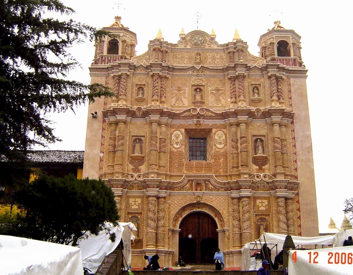 San Cristóbal de las Casas Santo Domingo Church