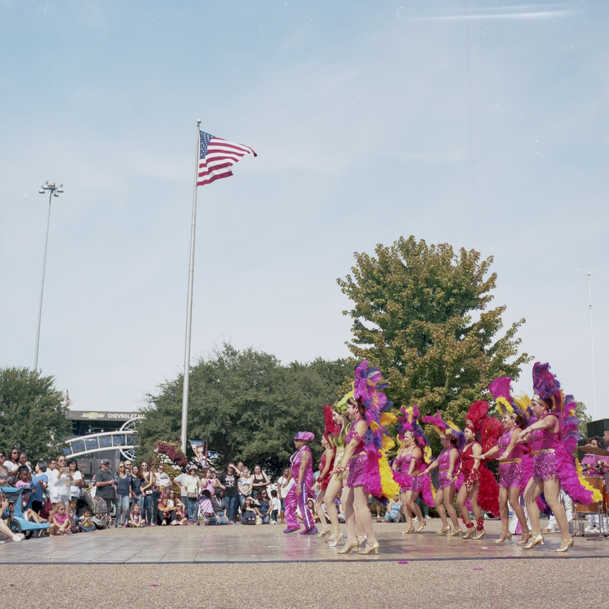 2015 State Fair of Texas on Medium Format Film