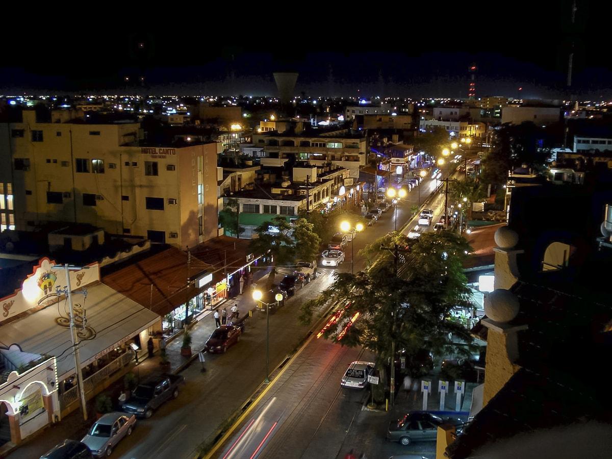 Avenida Yaxchilan in Cancun, Mexico