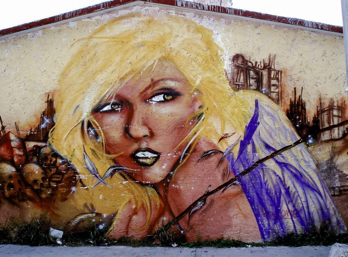 Street art in Cancun