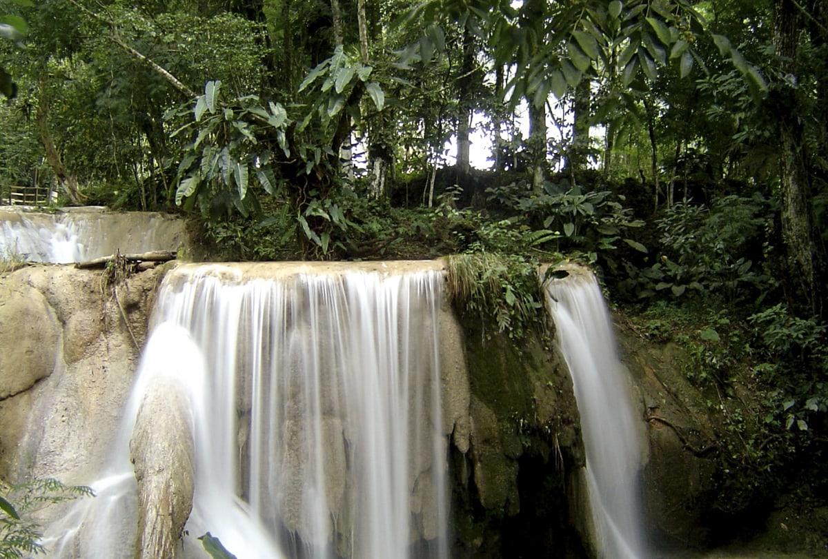 El Chiflon waterfall, Chiapas, Mexico