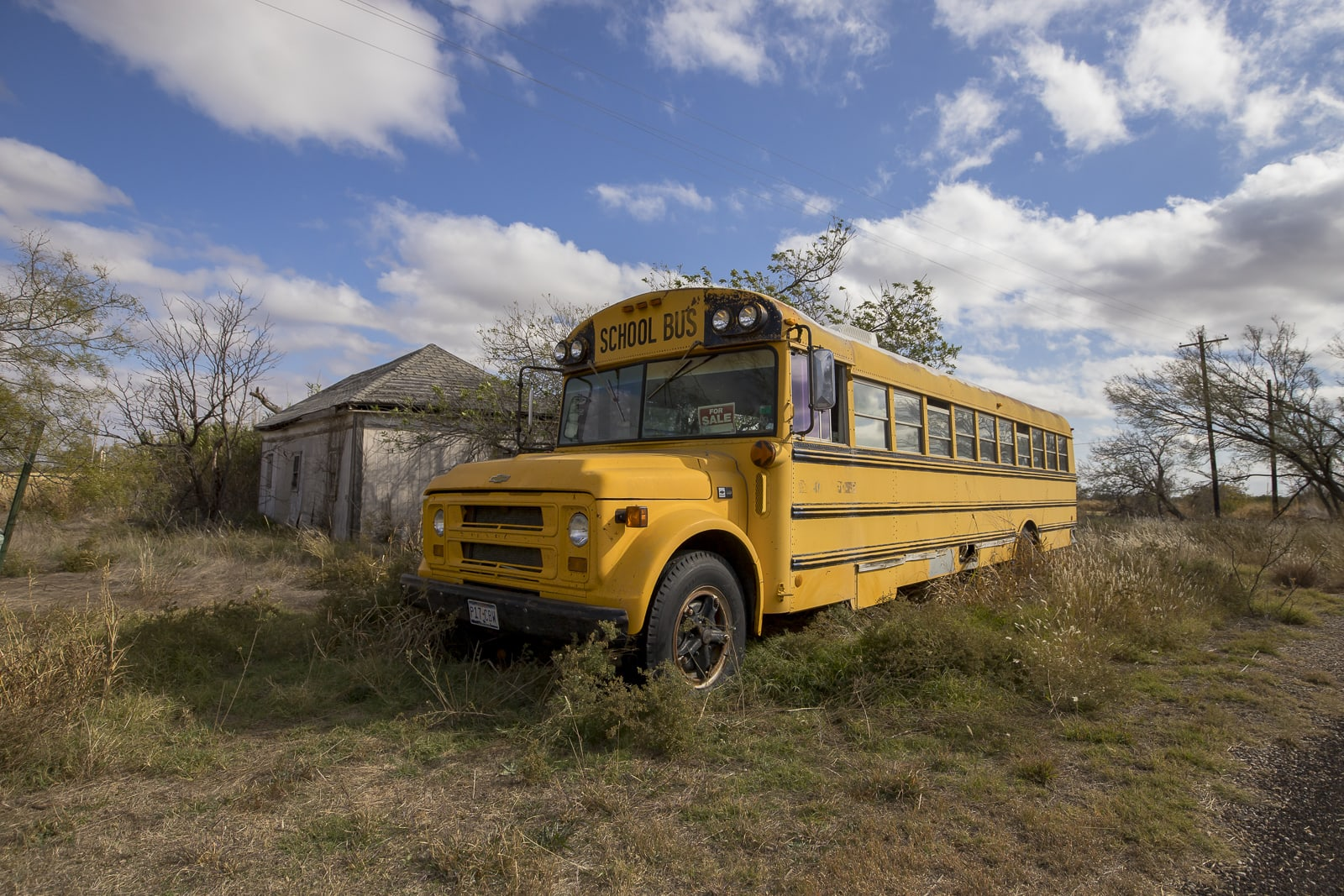 Abandoned School Bus in Texas