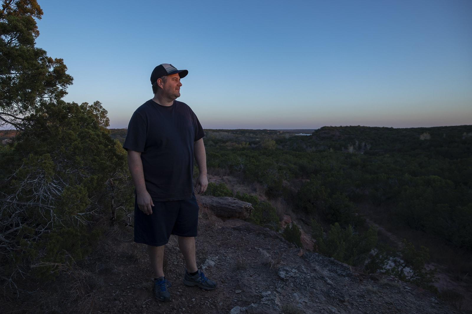 John Davidson at Copper Breaks State Park