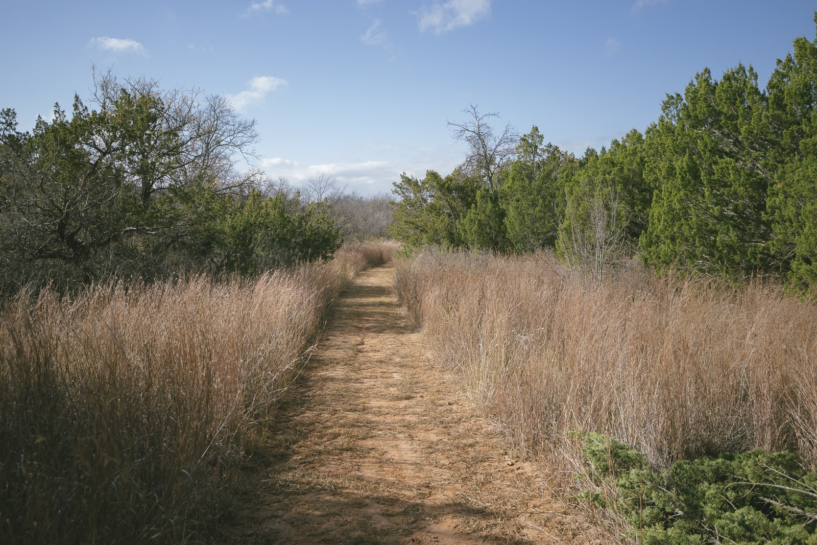Copper Breaks State Park Trail