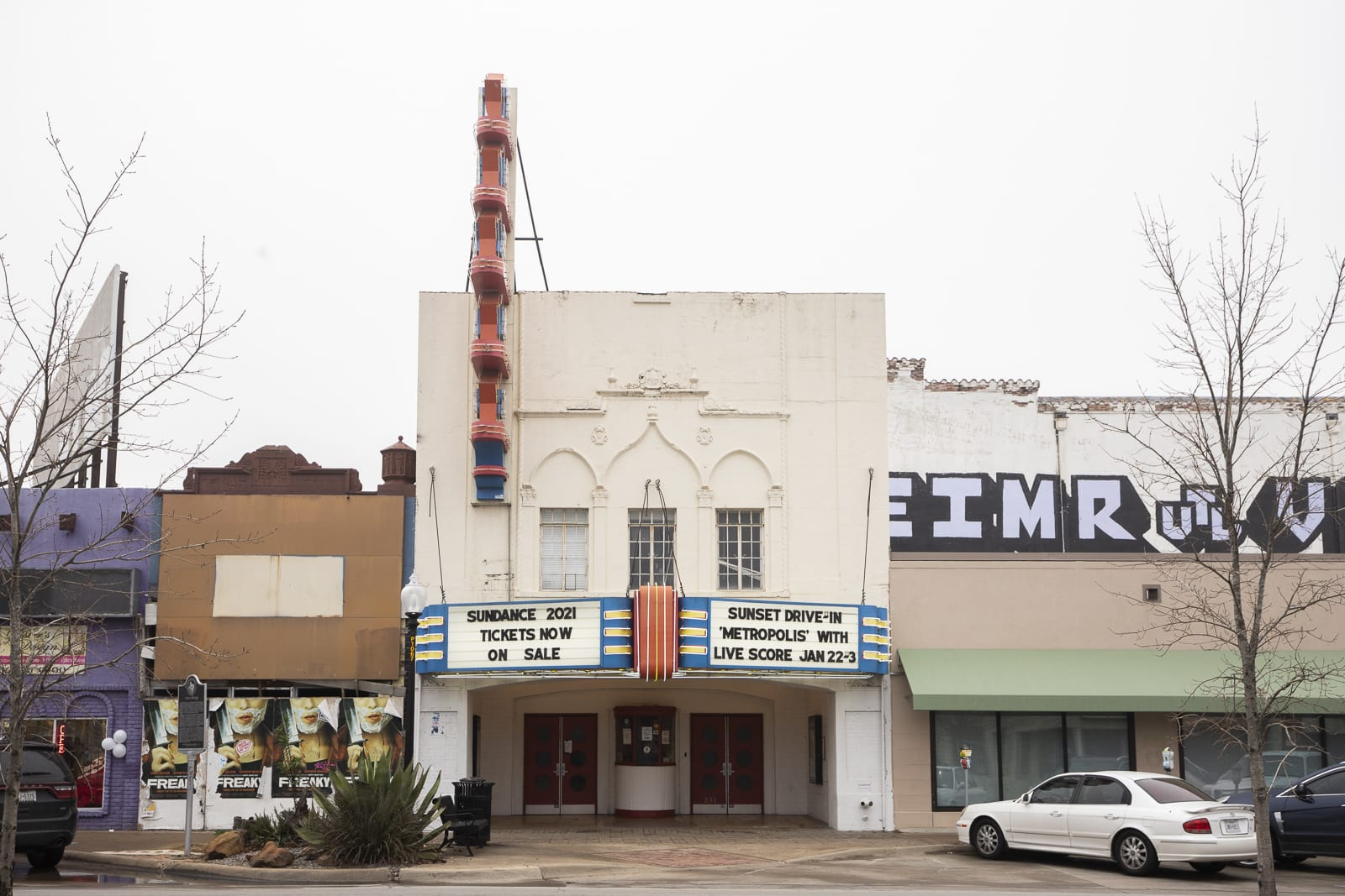 Texas Theater in Oak Cliff, Dallas