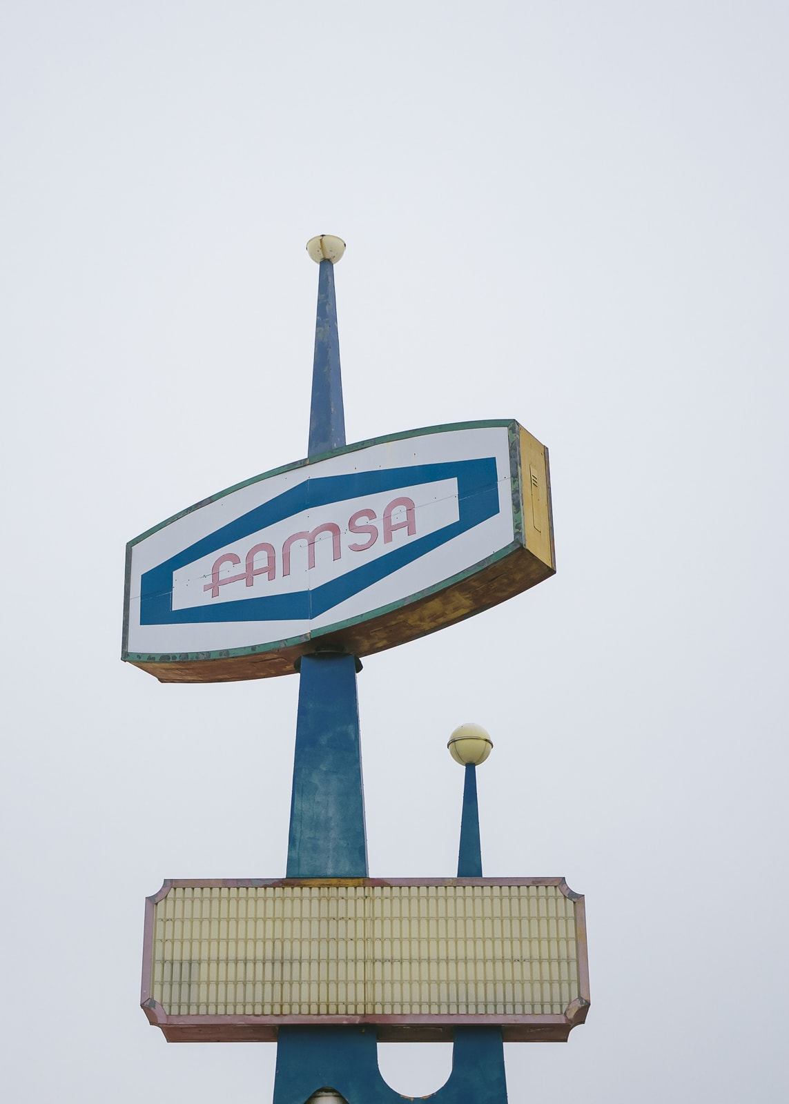 Vintage Famsa Sign Jefferson Boulevard, Oak Cliff