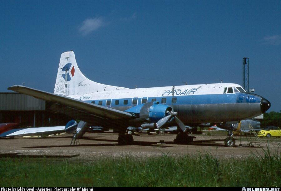 Pro Air Martin 404 N255S by Eddy Gual