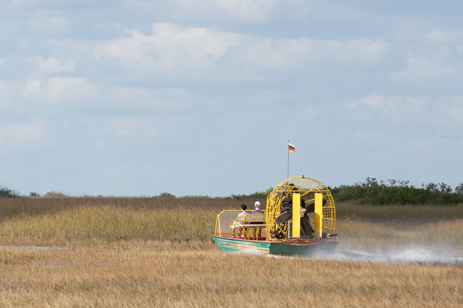 Airboat tour in the Florida Everglades
