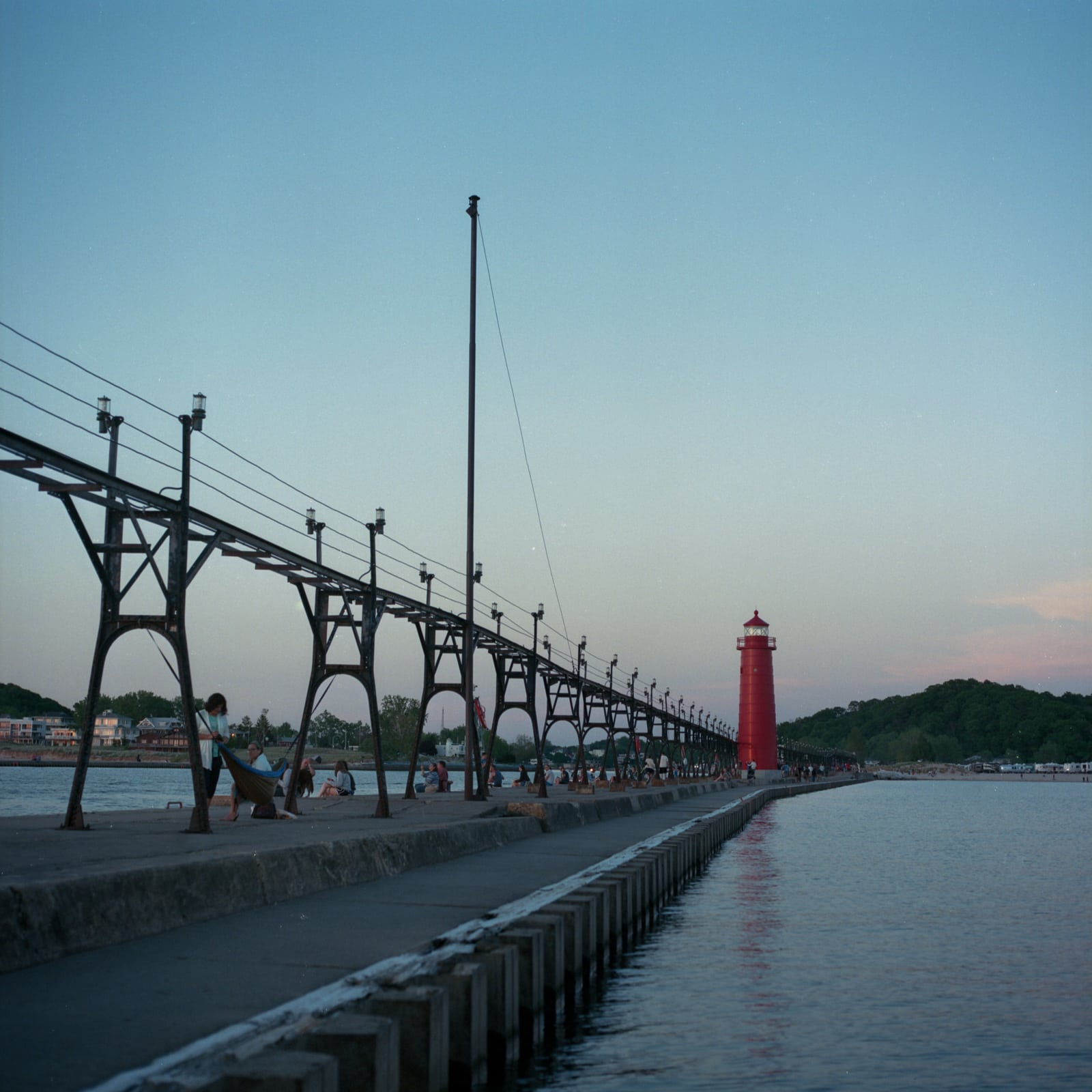 Grand Haven Red Lighthouse