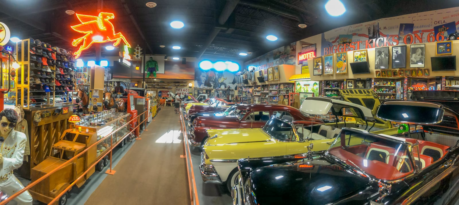 Russell's Truck & Travel Center auto museum