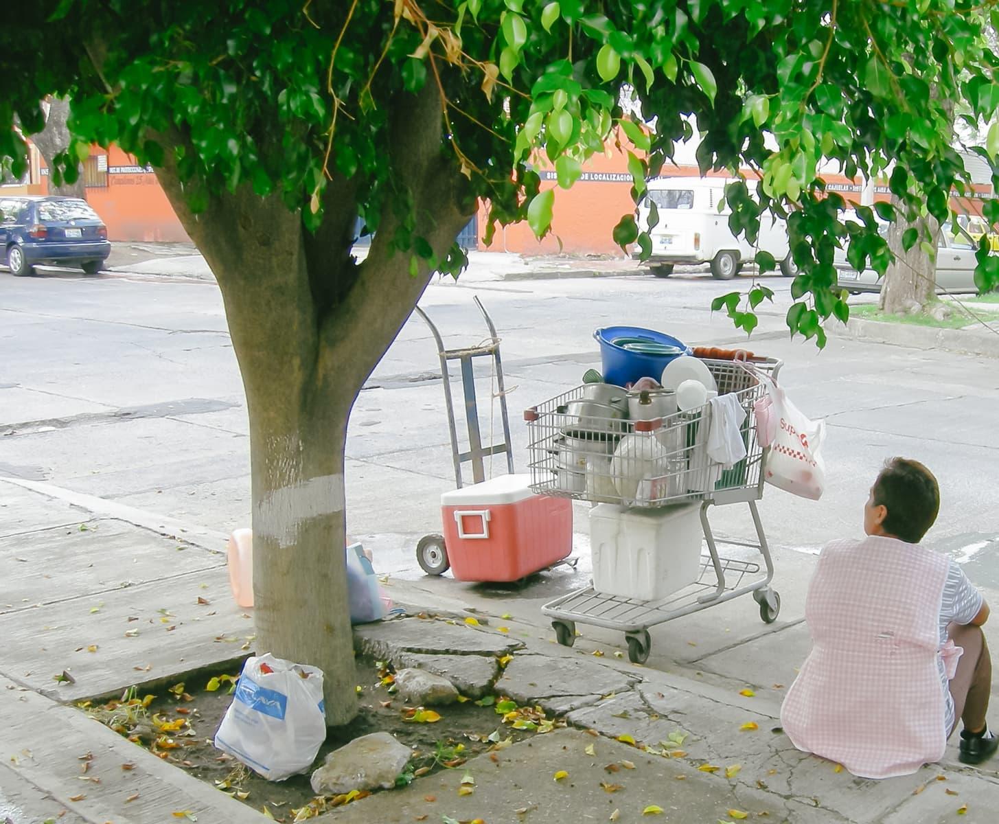 Guadalajara street vendor
